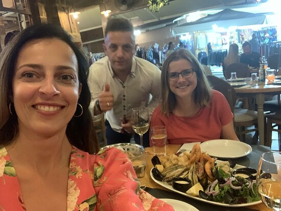The best sea food in Chania