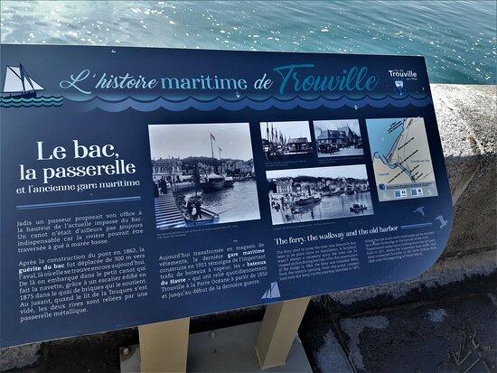 Le bac de Trouville