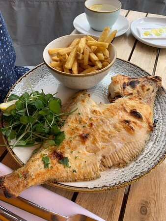 Special of the day….Fresh plaice