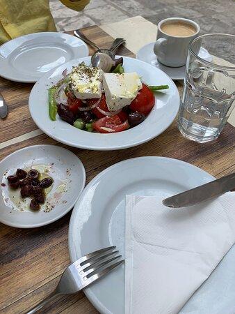 Honest Greek food, reasonable prices