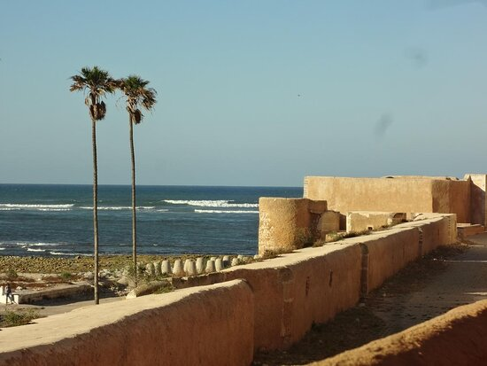 vue de la terrasse. la mer est à 100m