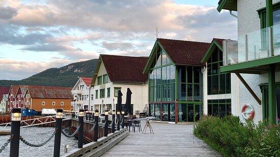 Rognan, Norway: Sea front