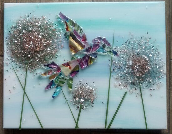 The Shatter Shop Glass Art Pcb