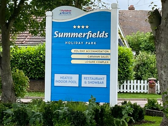 Great Yarmouth, UK: Coming into Summerfields