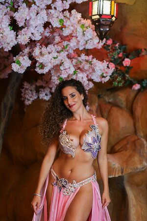 Our belly dancer performances cannot be missed!