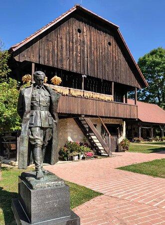 Kumrovec, Croatia: 1948 bronze statue.