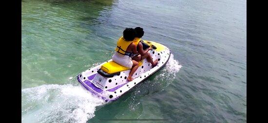 Jet Ski Rental in Caye Caulker, Belize: Did A Awesome Ride😊😍