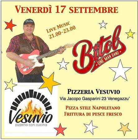 Vesuvio live ogni venerdì