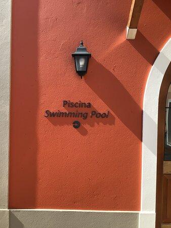 Swimming Pool Entrance;