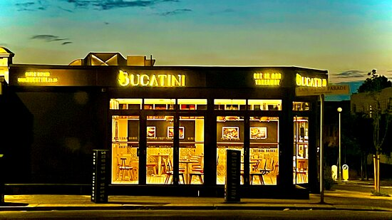 The look of BUCATINI