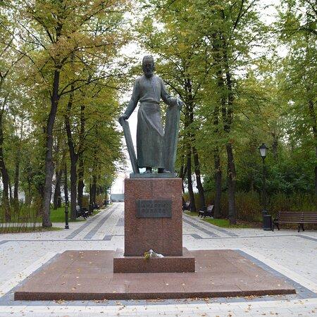 Памятник Андрею Рублёву в Москве
