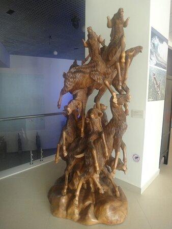 Экспонат Музея Мирового океана