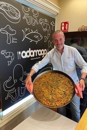 Impresionante paella valenciana