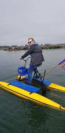 Monterey Bay Hydrobiking on the Elkhorn Slough - Moss Landing, Califiornia