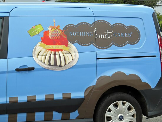 Nothing bundt Cakes delivery truck