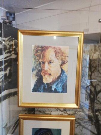 Augustus John self portrait