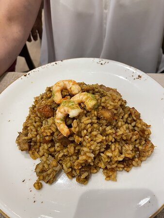Muy buena comida en el centro de Málaga