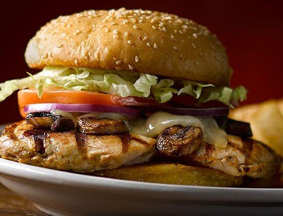 Λονδίνο, UK: Chicken Fillet Burger