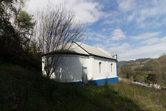 Vista da capela - fundos da atração.