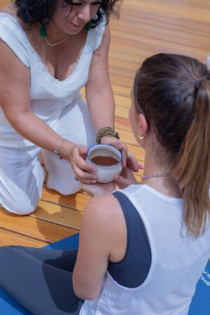 Cacao ceremony with sound healing, they offer a great variety of classes and activities