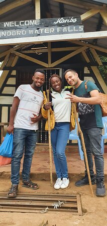 Marangu, Τανζανία: For the best of Kilimanjaro cultural Tourism experience don't hesitate to contact me via WhatsApp +255753544158. Waterfalls, chagga caves, chagga museums, blacksmith, view points, forest and River hiking, lacal markets and local brewery