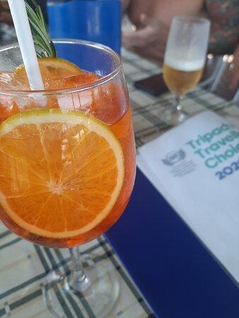A passeio pelo Rio de Janeiro tomei este drink e comi um pastel de camarão no pescato bar e restaurante, um delícia os dois! Super recomendo.   O atendimento extraordinário!! Vou voltar.