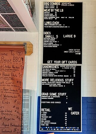 Full menu with partial side menu