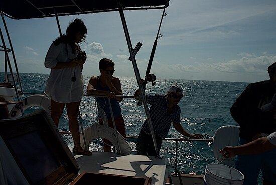 "Cancún, México: Mis aventuras en el Barco ""El Tafil""  My adventures at the Boat ""Tafil"""