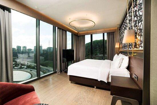Suite - lounge access