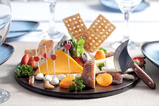 Restaurant Food Cheeses