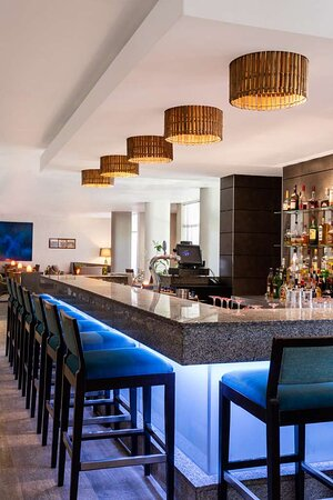Baw Baw Bar counter and drinks display
