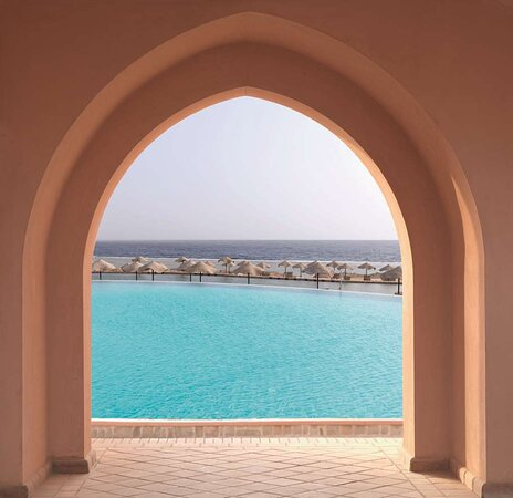 Arch to Pool