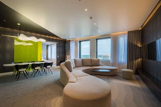 Karim Rashid Suite living room