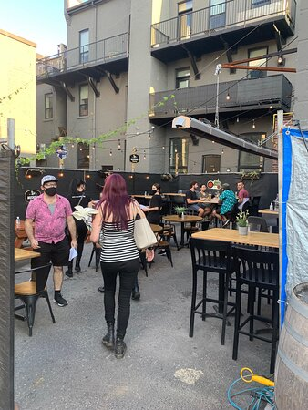 The Back Alley Patio
