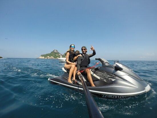 Passeio de Jet ski nas Ilhas Tijucas
