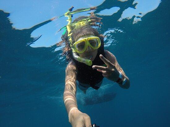 Mergulho livre nas Ilhas Tijucas