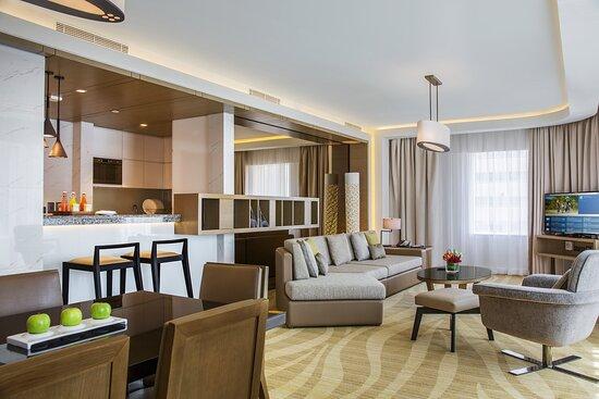 Three Bedroom Apartment Living Room