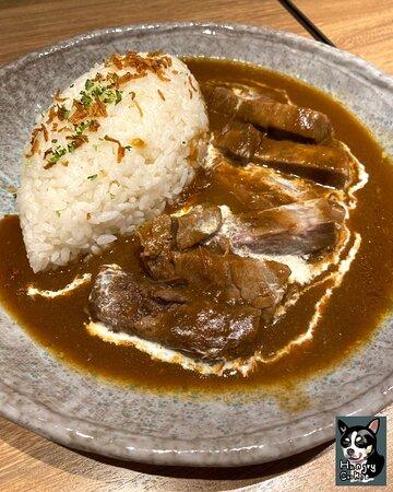 🍽日式咖哩燴牛肉飯 $112(4/5) Japanese Beef Curry with Rice