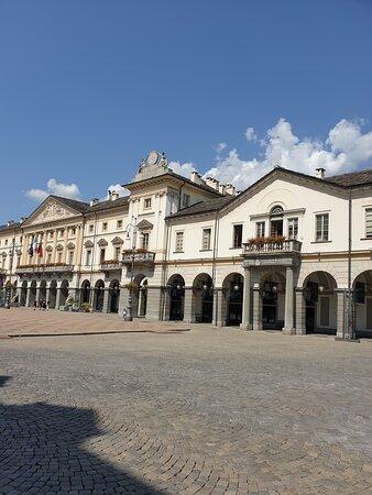 panoramica della Piazza