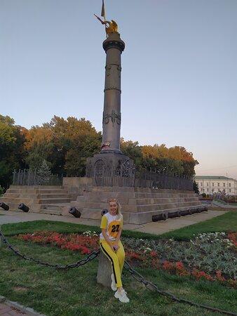 Монумент защитникам Полтавы