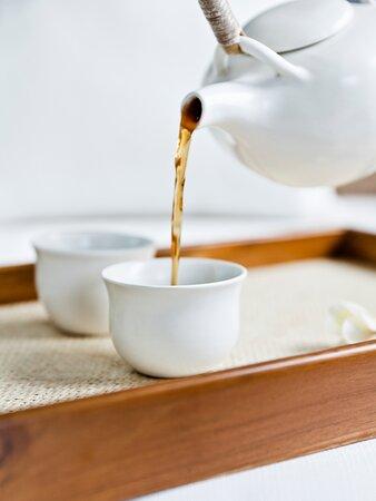 COMO Shambhala Retreat - Ginger Tea