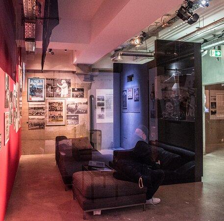 Kiezbeben-Ausstellung im FC St. Pauli-Museum Foto: Sabrina Adeline Nagel | http://www.siesah.de