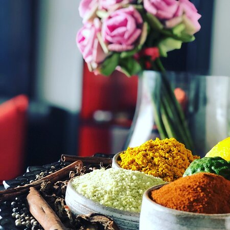 Fresh ingredients available at Khmer Tonics Spa