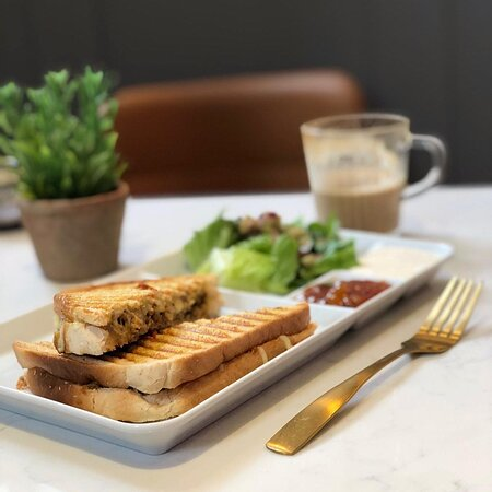 Our fresh Toasties are made to order anyway you like them!