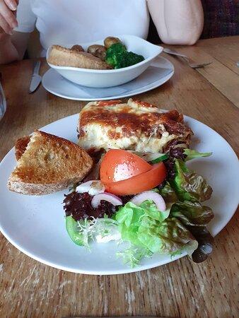 Lasagne - excellent at £8.95 a plate