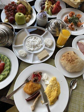 Nile Ritz Breakfast at Culina