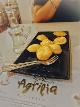Som vanlig nydelig mat på Agrilia