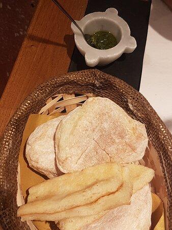 pane con pesto