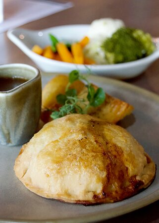 Vegetarian Sunday Lunch, available from 11.30am to 3pm on Sunday.