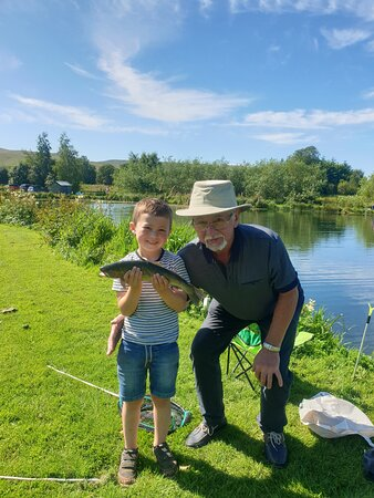 A place where the young teach the old how to fish! Wait, perhaps that's the otherwise around. Eitherway, spending quality time with loved ones in beautiful surroundings is truly special.